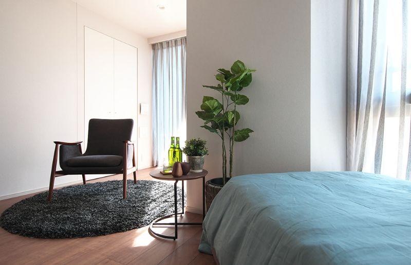 賃貸では珍しいお部屋によって異なる3つのカラーを用意し、インテリアコーディネートも楽しめます。