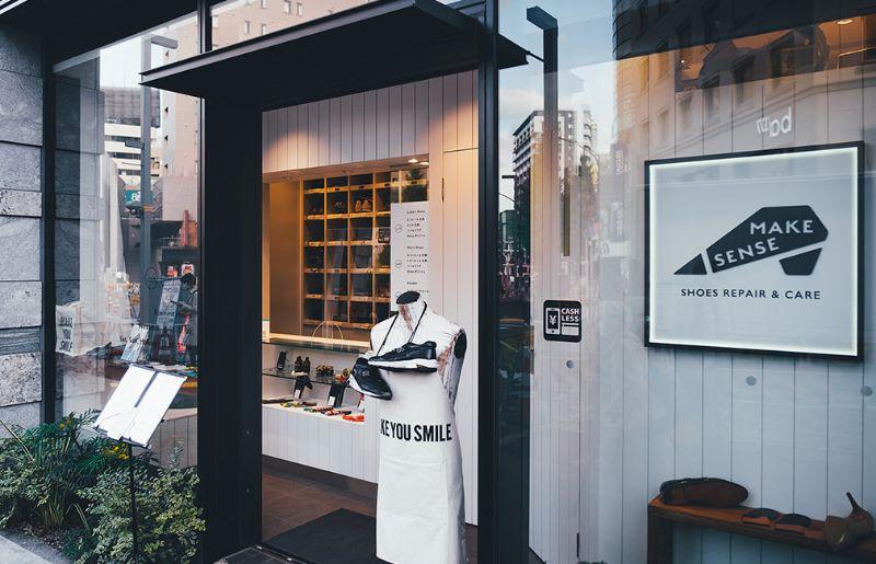 世界に認められた靴磨き職人ブーツブラックジャパンの長谷川裕也氏が立ち上げた靴修理店「MAKE SENSE(メイクセンス)」